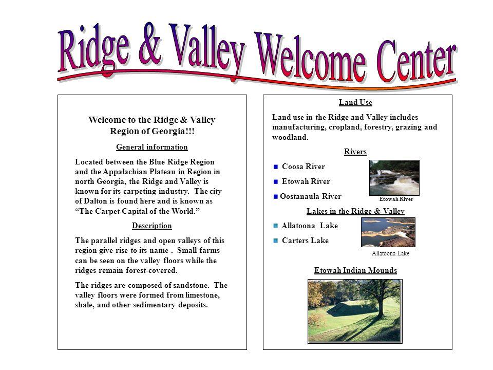 Ridge & Valley Welcome Center