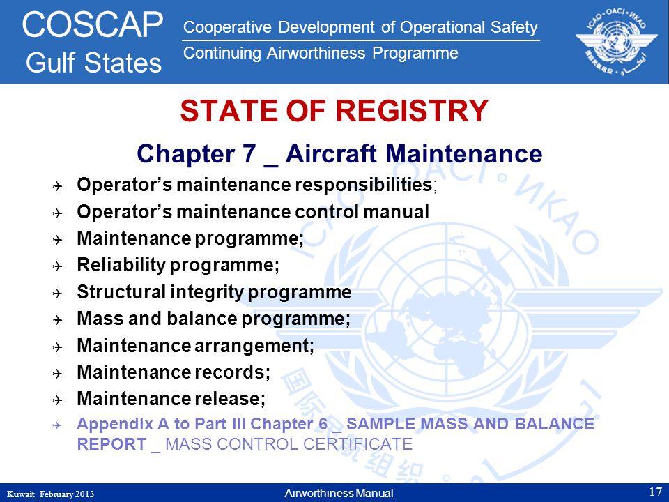 Chapter 7 _ Aircraft Maintenance