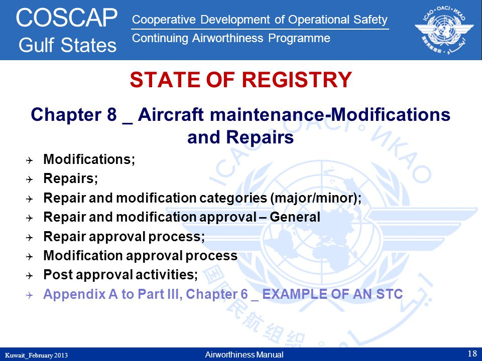 Chapter 8 _ Aircraft maintenance-Modifications and Repairs