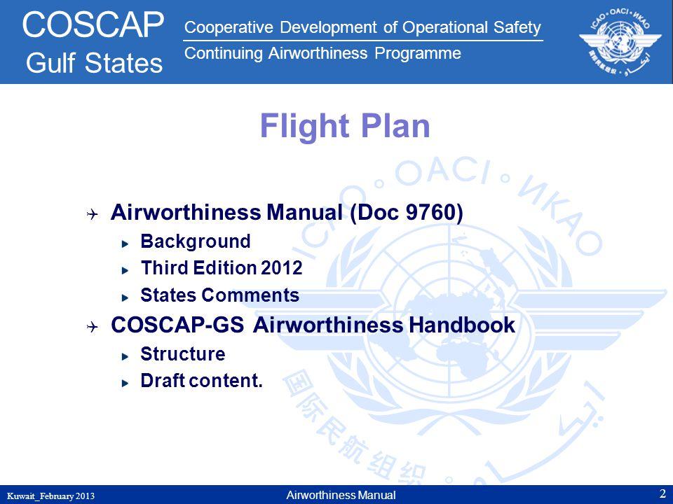 Flight Plan Airworthiness Manual (Doc 9760)