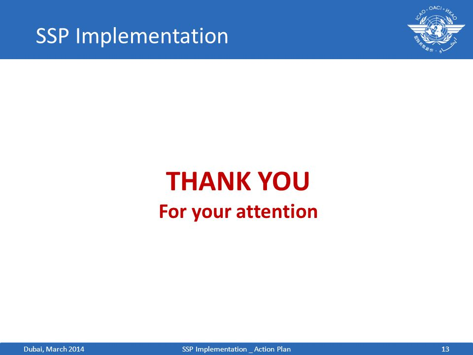 SSP Implementation _ Action Plan