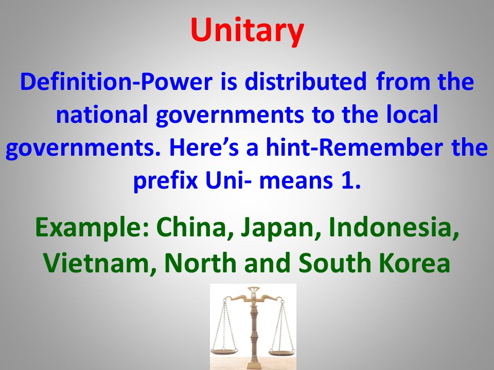 Example: China, Japan, Indonesia, Vietnam, North and South Korea