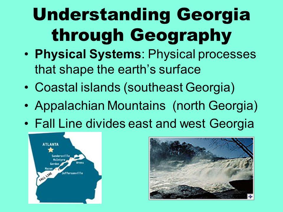 Understanding Georgia through Geography