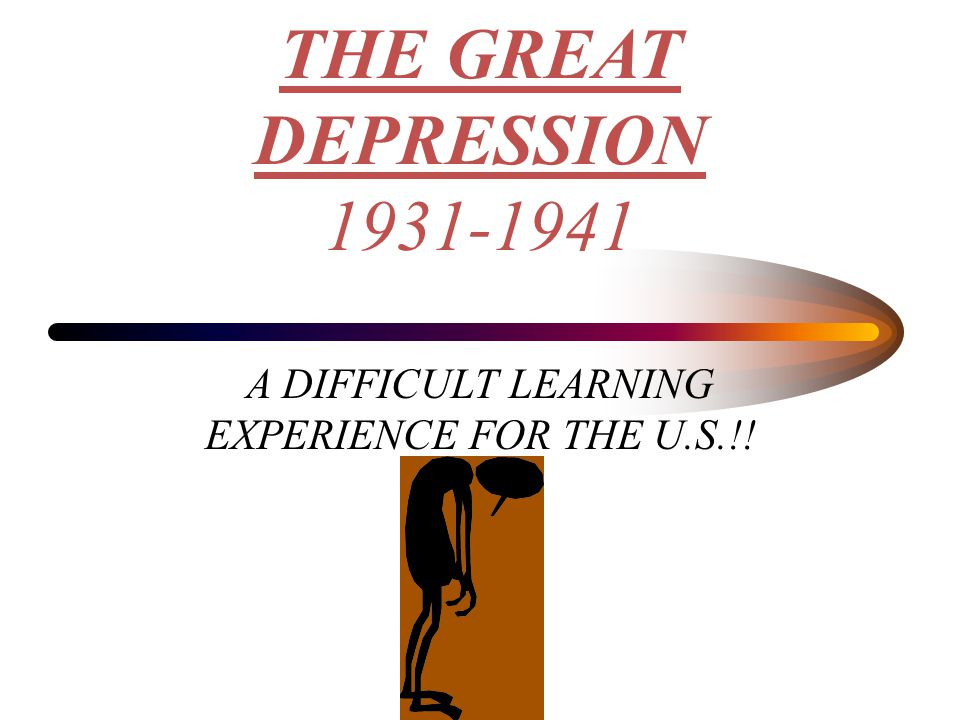 A DIFFICULT LEARNING EXPERIENCE FOR THE U.S.!!