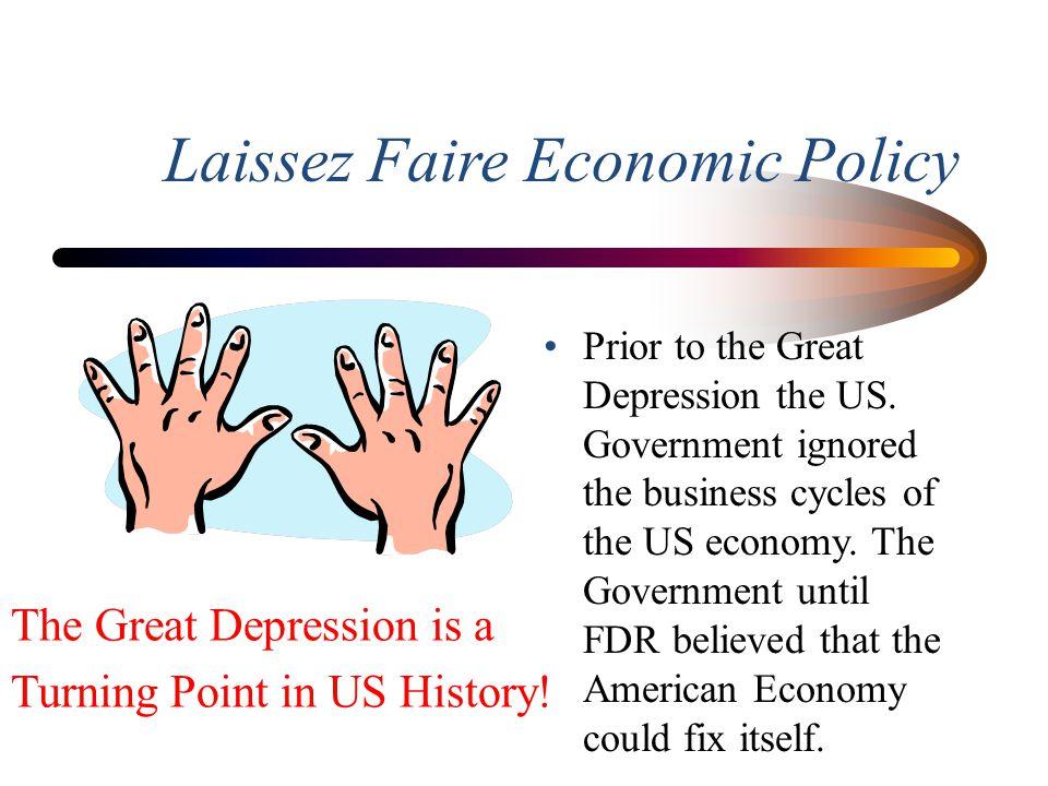 Laissez Faire Economic Policy