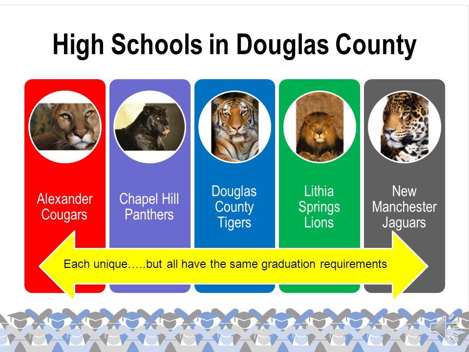 High Schools in Douglas County