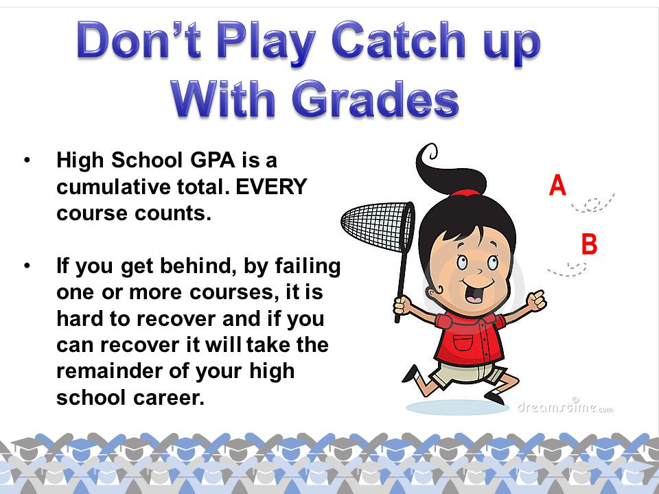 Don't Play Catch up With Grades