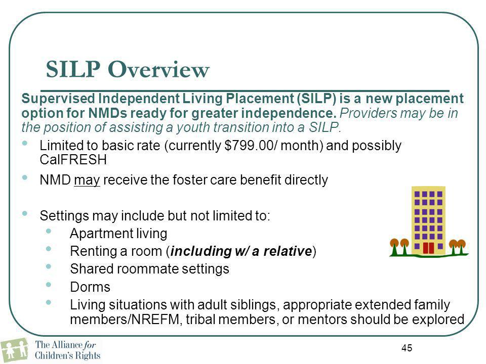 SILP Overview