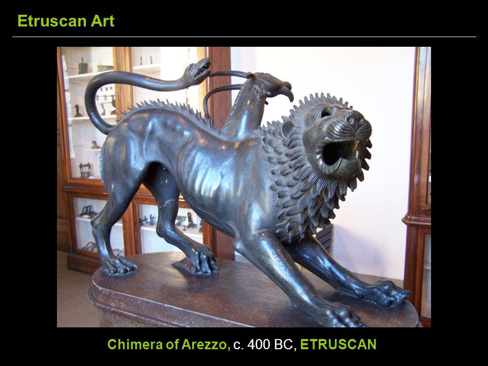 Chimera of Arezzo, c. 400 BC, ETRUSCAN