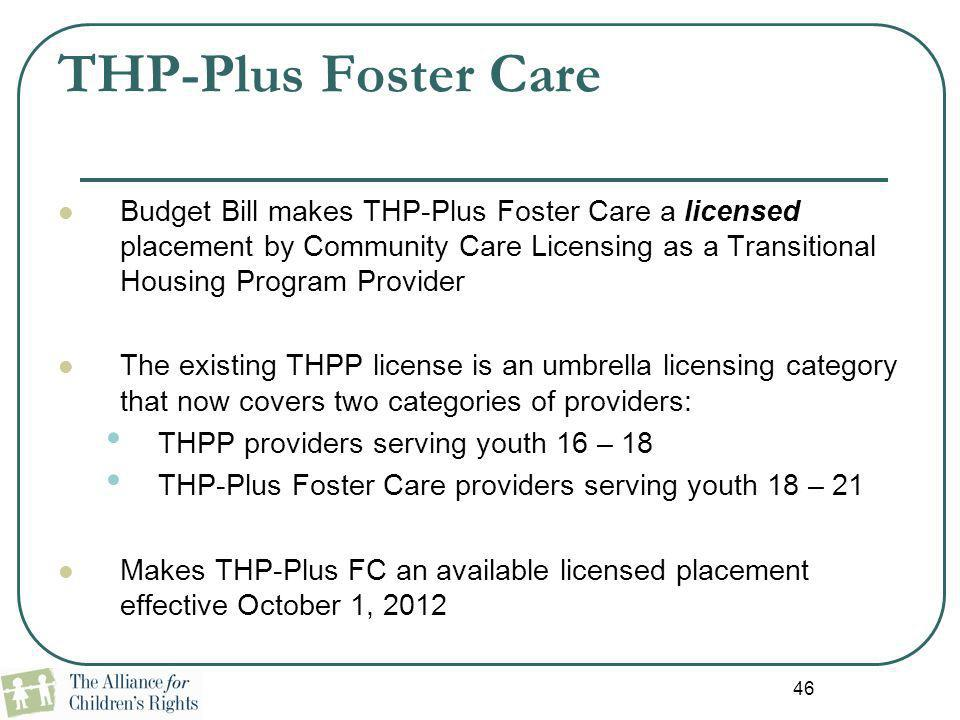 THP-Plus Foster Care