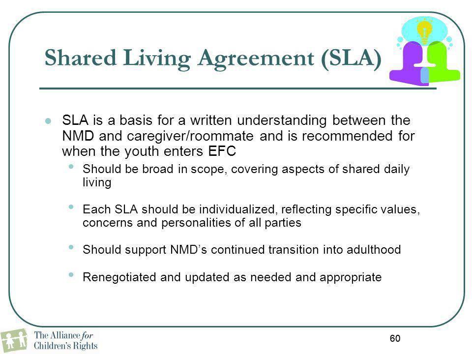 Shared Living Agreement (SLA)