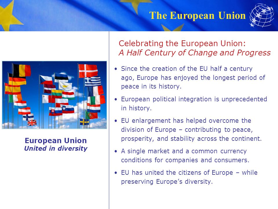Celebrating the European Union: A Half Century of Change and Progress