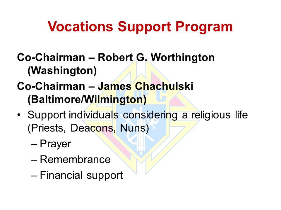 Vocations Support Program