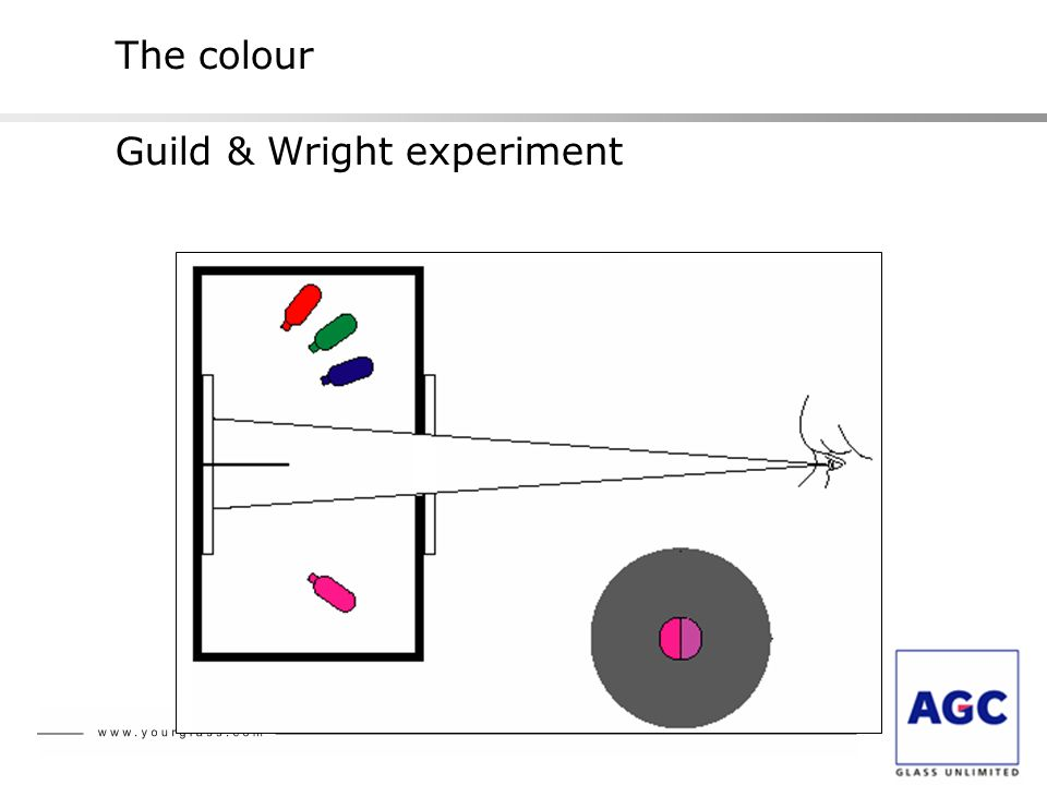 The colour Guild & Wright experiment