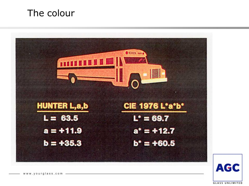 The colour