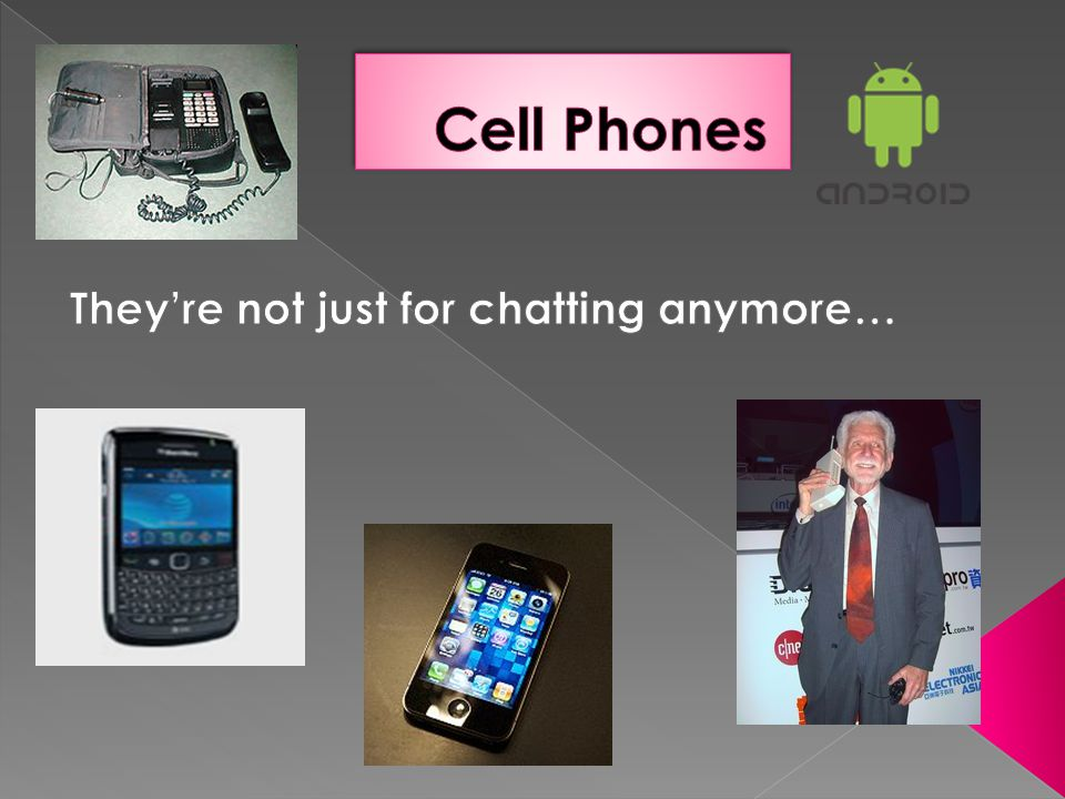 They're not just for chatting anymore…