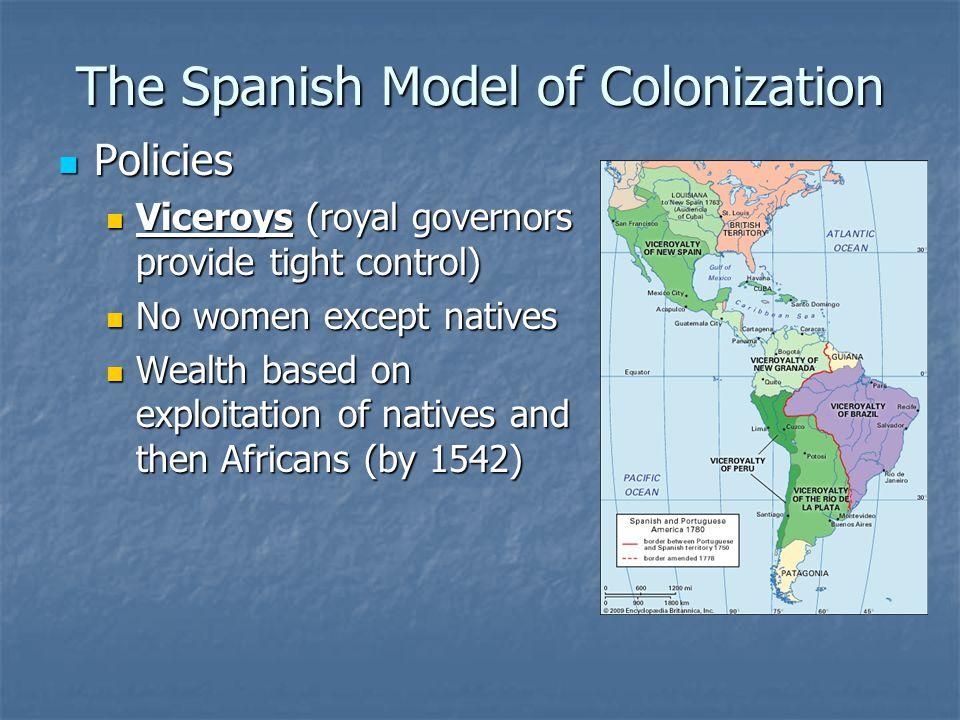 The Spanish Model of Colonization