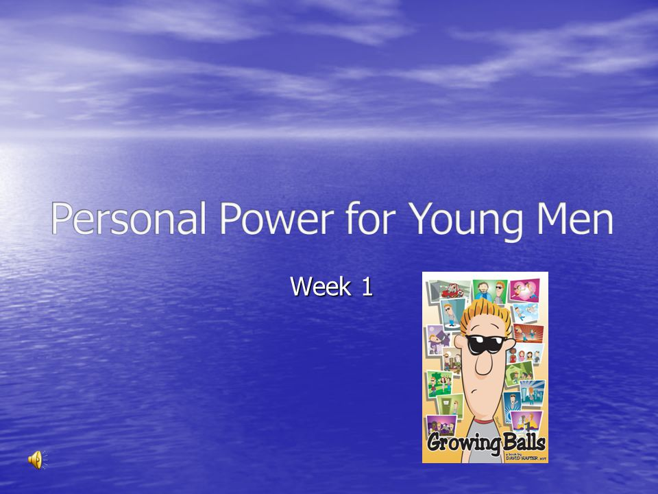 Personal Power for Young Men