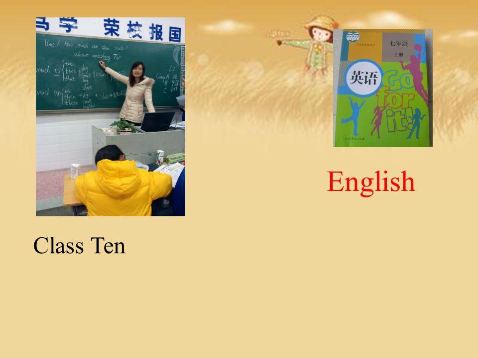 English Class Ten