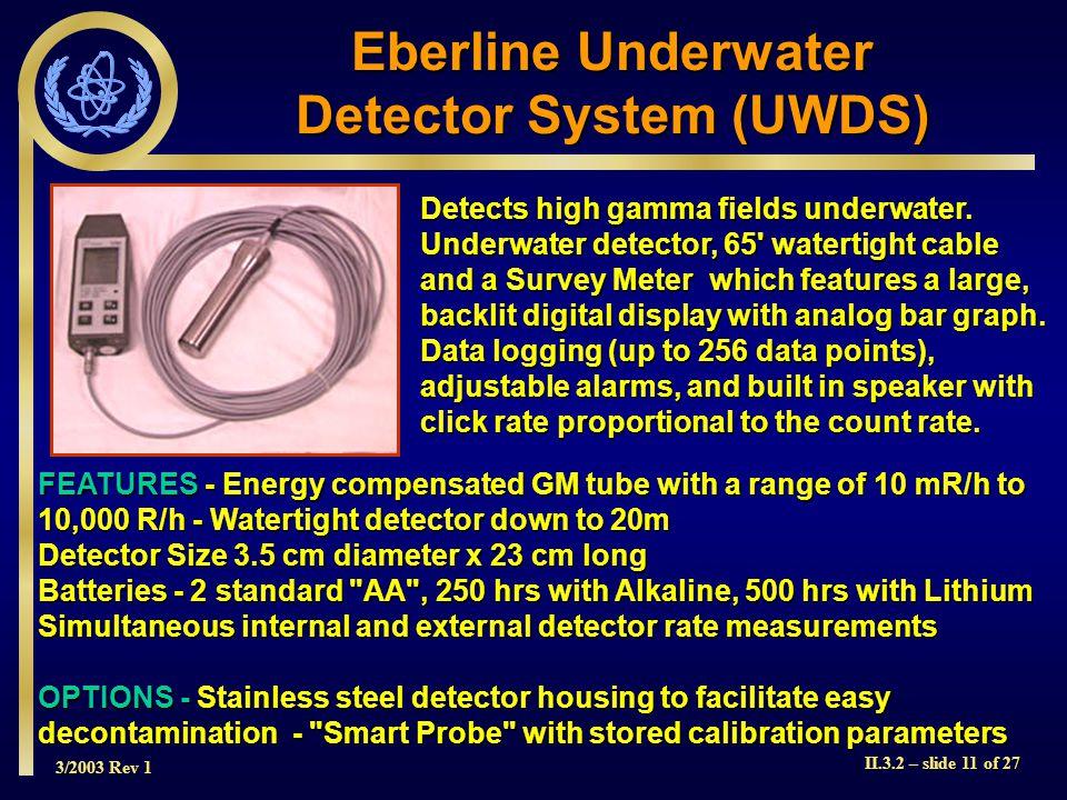Detector System (UWDS)
