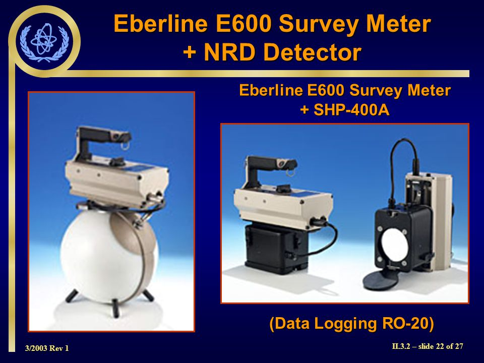 Eberline E600 Survey Meter Eberline E600 Survey Meter