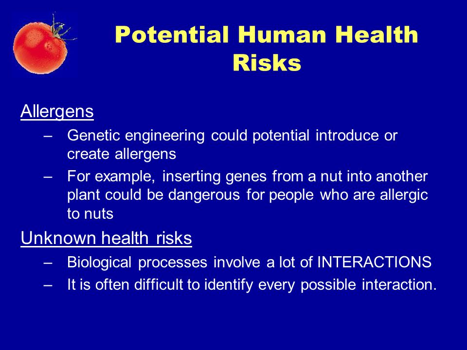 Potential Human Health Risks