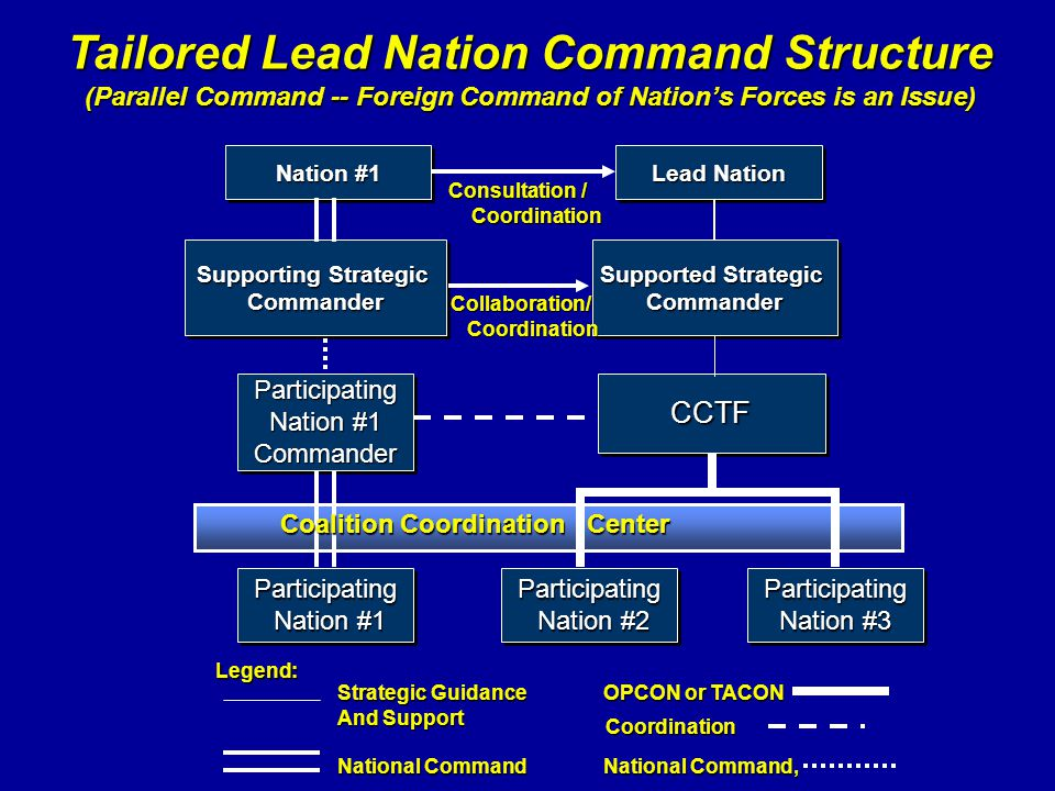 Tailored Lead Nation Command Structure