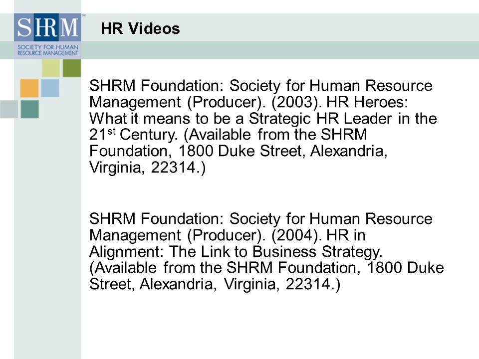HR Videos