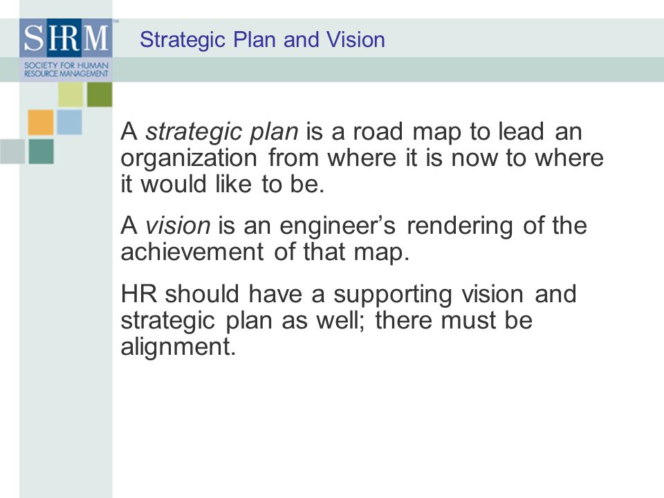 Strategic Plan and Vision
