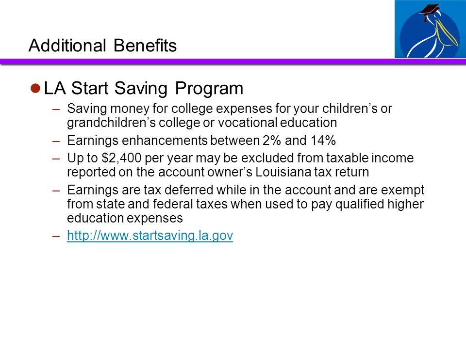LA Start Saving Program