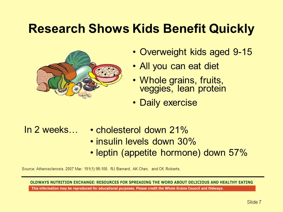 Research Shows Kids Benefit Quickly