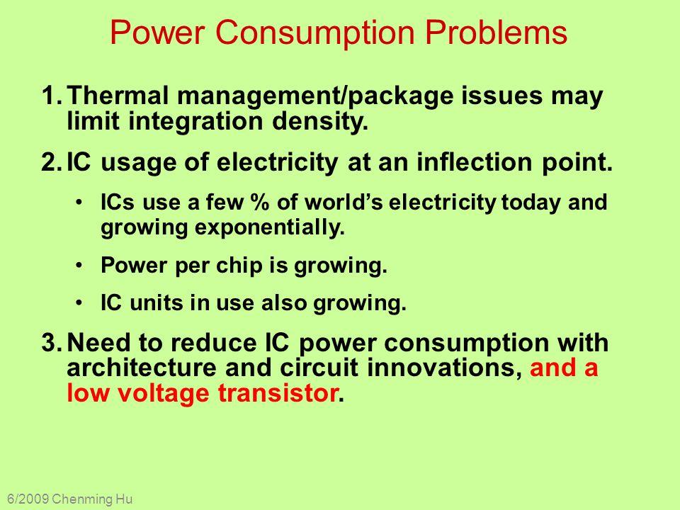 Power Consumption Problems