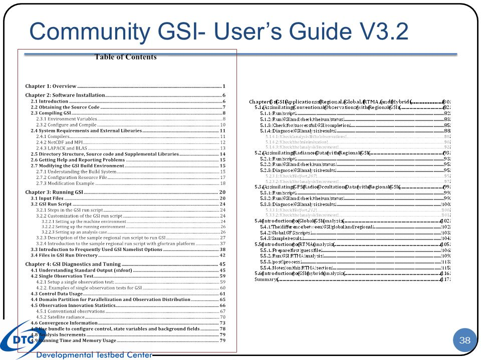 Community GSI- User's Guide V3.2