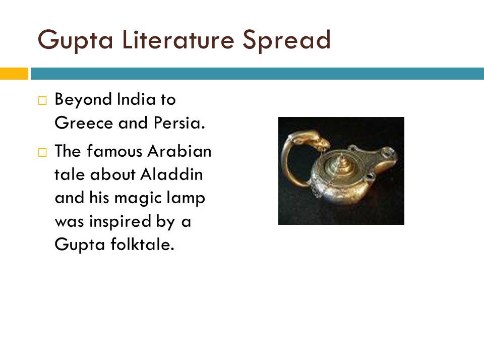 Gupta Literature Spread