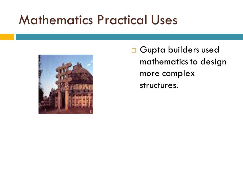 Mathematics Practical Uses