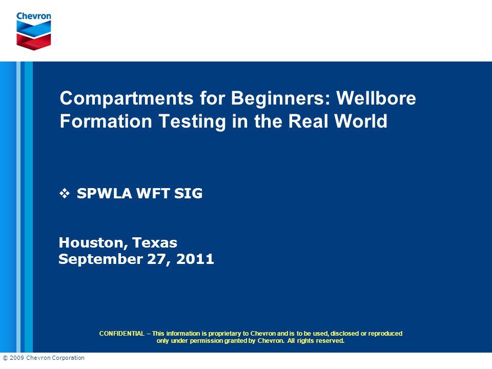 SPWLA WFT SIG Houston, Texas September 27, 2011