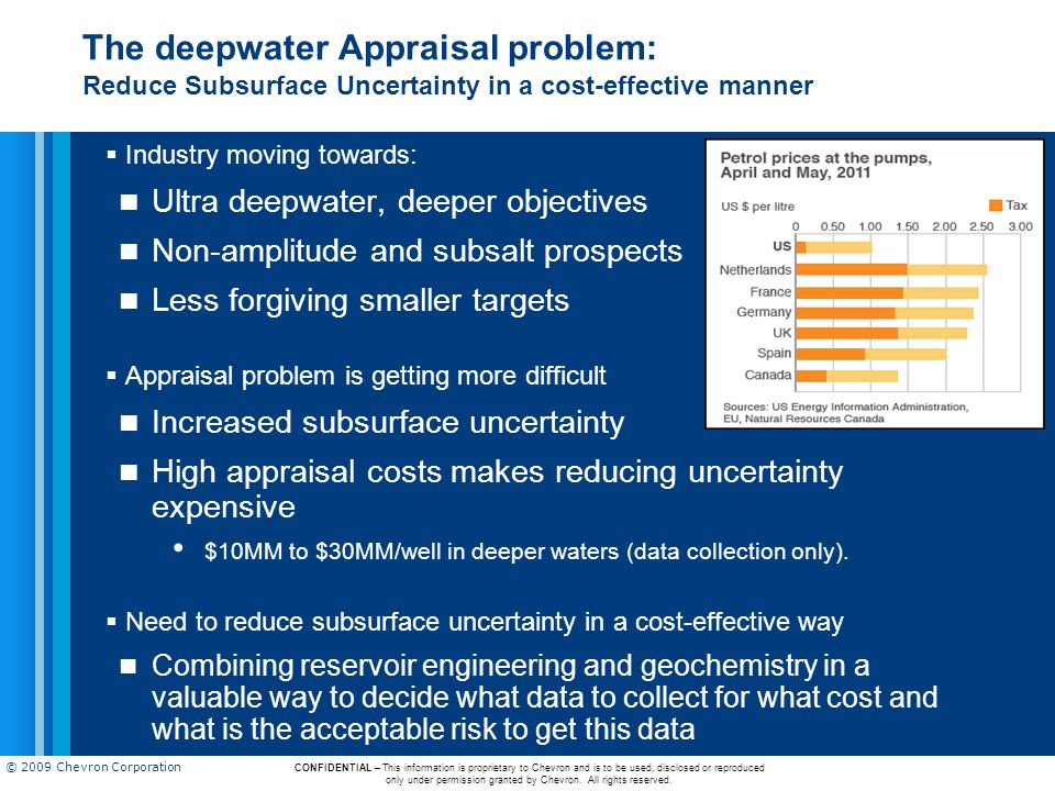 The deepwater Appraisal problem: Reduce Subsurface Uncertainty in a cost-effective manner
