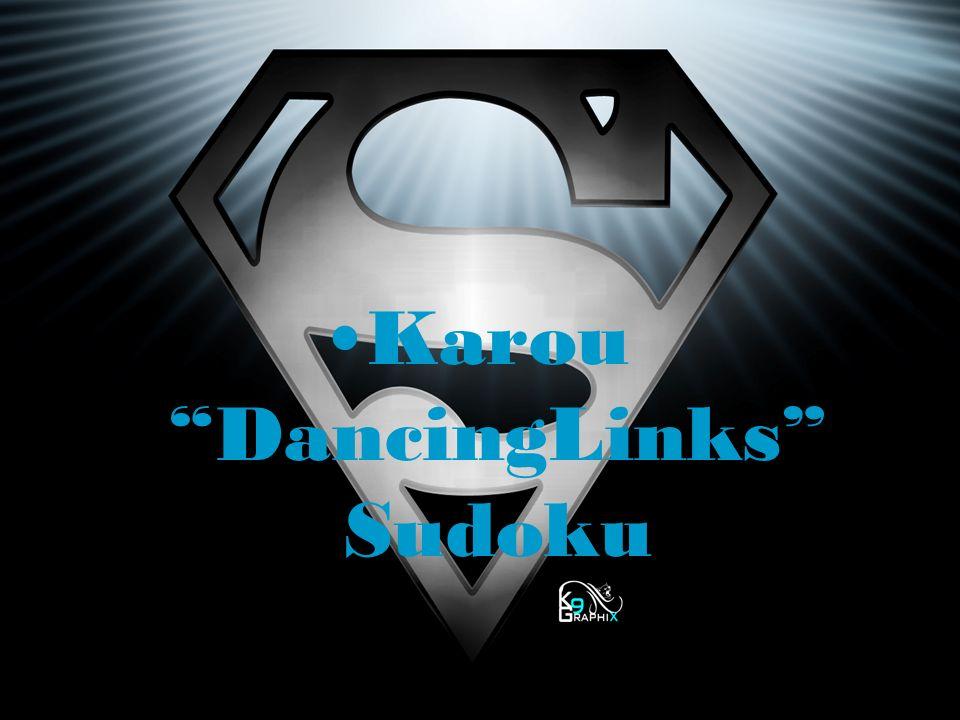 Karou DancingLinks Sudoku