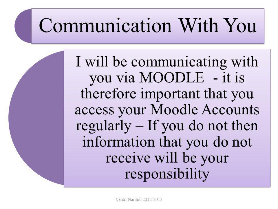 Communication With You