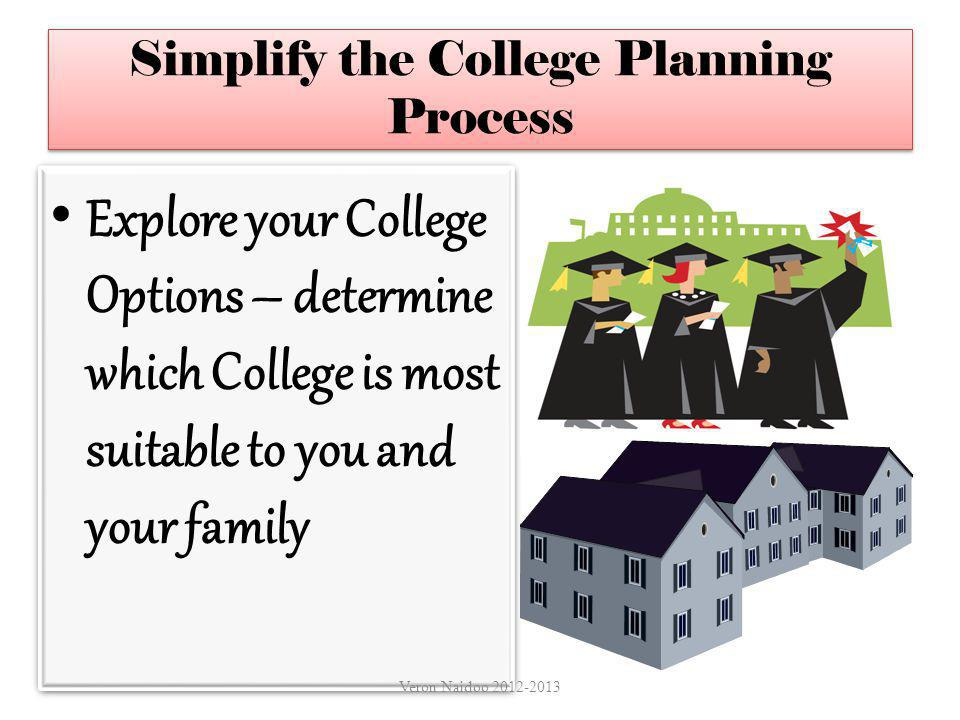 Simplify the College Planning Process