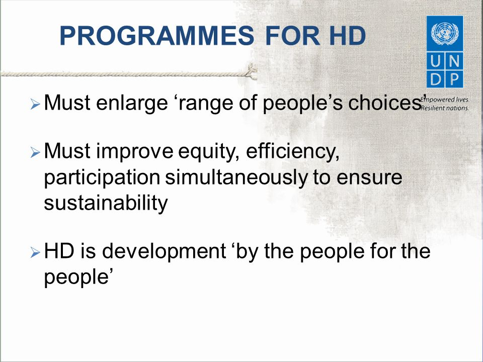 PROGRAMMES FOR HD Must enlarge 'range of people's choices'