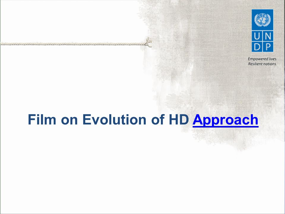 Film on Evolution of HD Approach