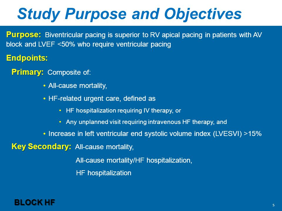Study Purpose and Objectives