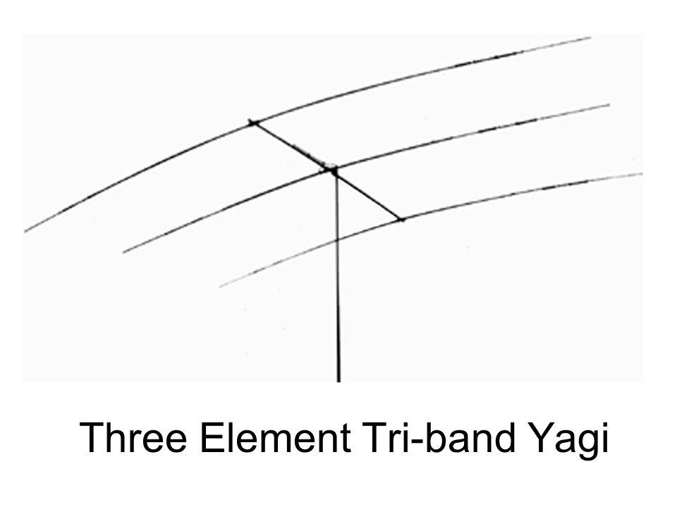 Three Element Tri-band Yagi