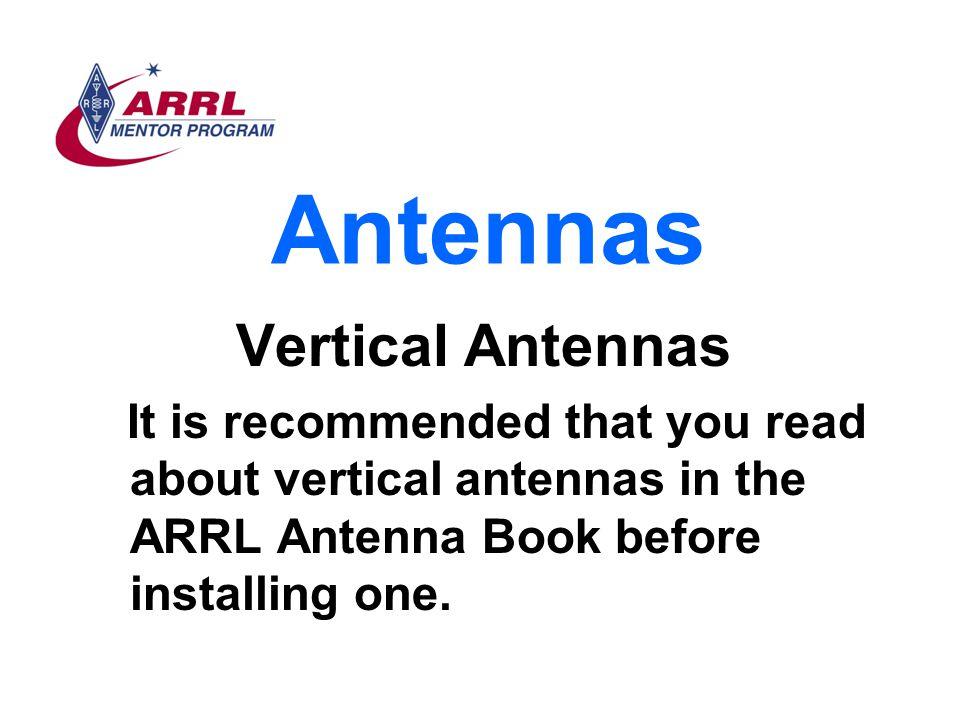 Antennas Vertical Antennas