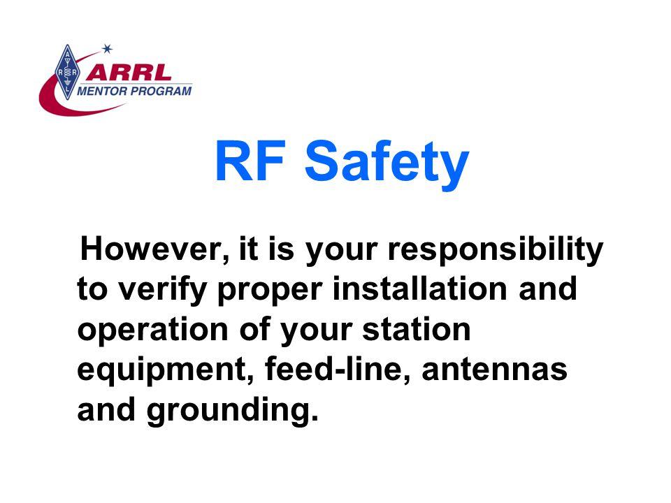 RF Safety