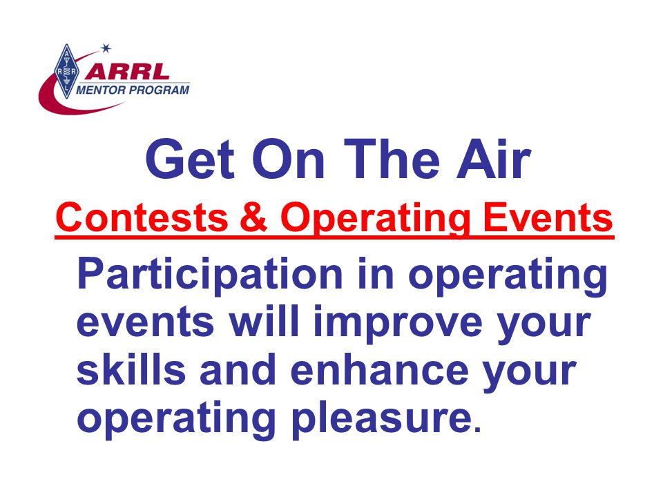 Contests & Operating Events