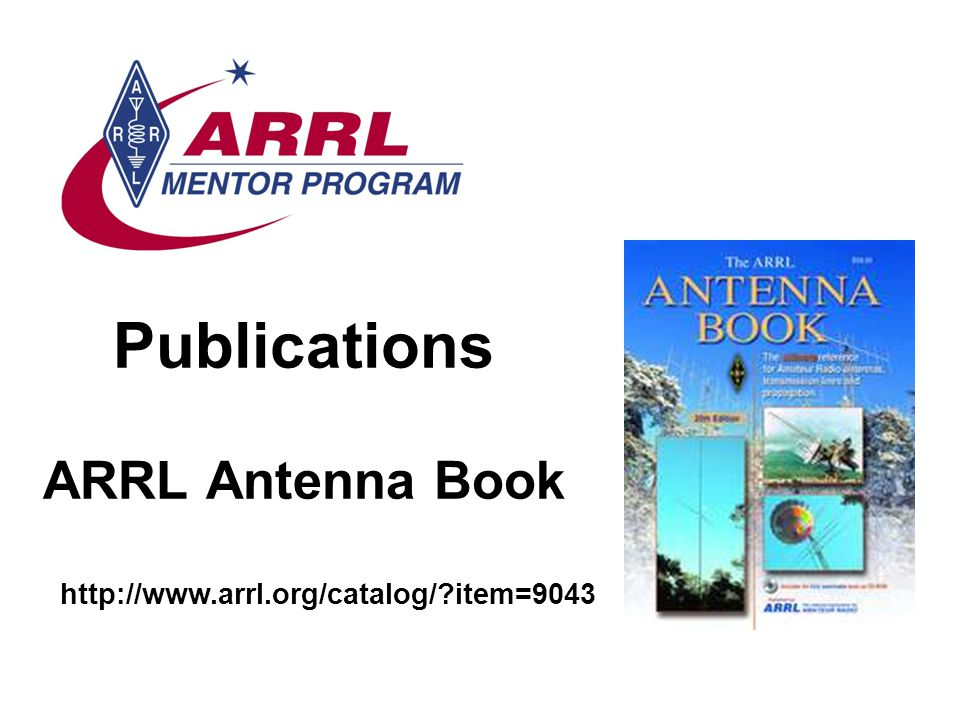 Publications ARRL Antenna Book