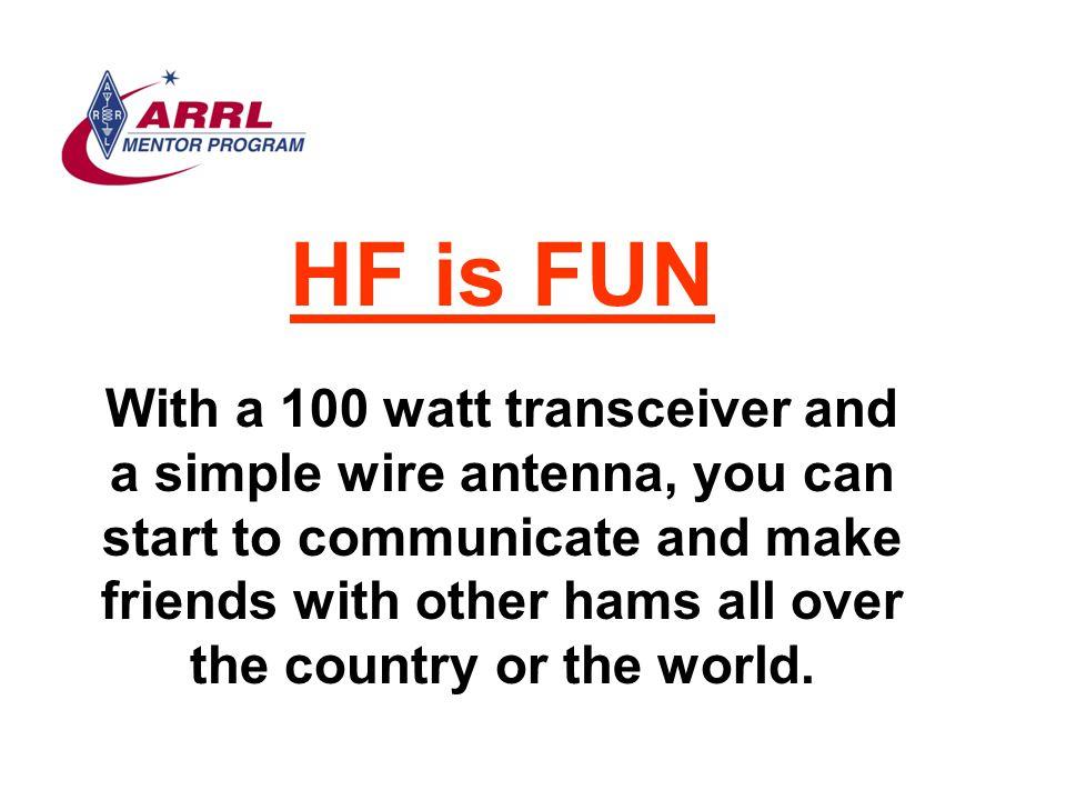 HF is FUN