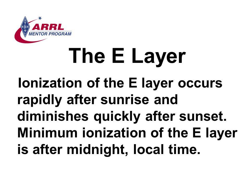 The E Layer